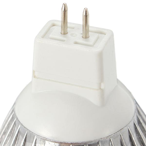 ZX MR16 3W LED Pure White Warm White Spot Lightting Bulb 12V