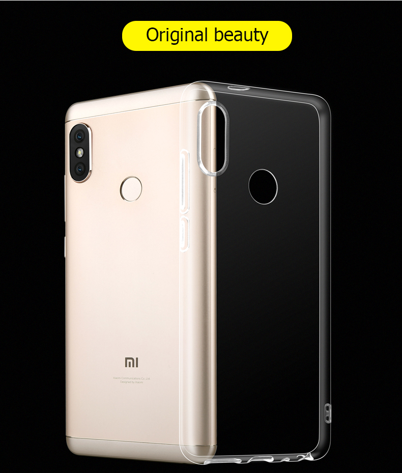 Bakeey Transparent Ultra-thin Soft TPU Protective Case For Xiaomi Mi A2 / Xiaomi Mi 6X