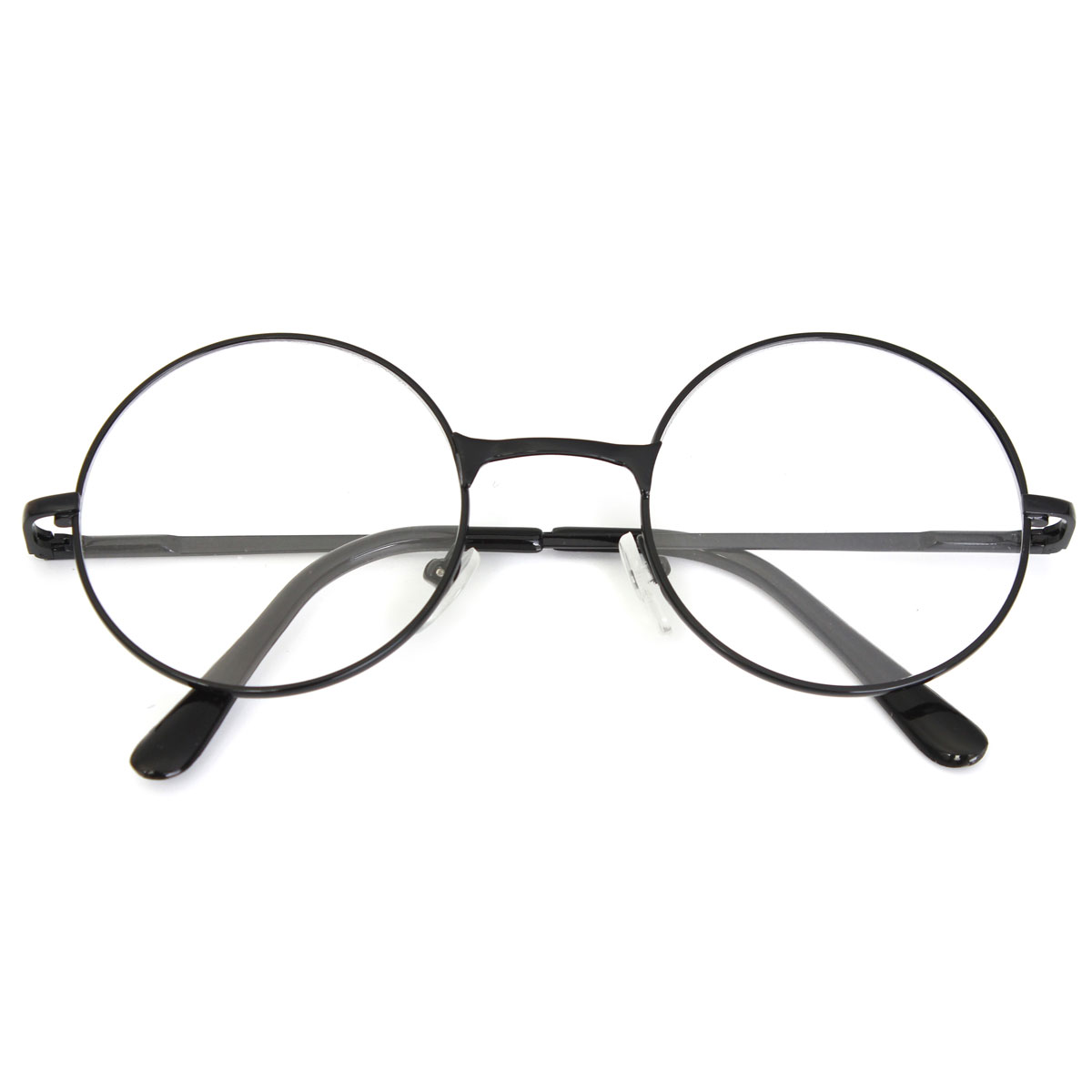Unisex Men Women Resin Round Oval Metal Rim Presbyopic Reading Glasses Vintage Eyeglasses