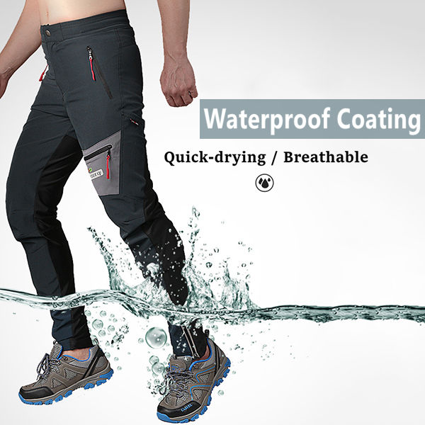 Waterproof Breathable Slim Fit Climbing Trousers