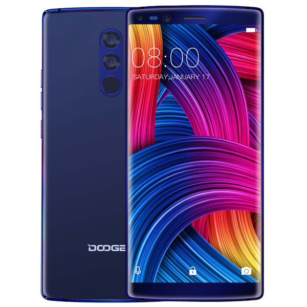 DOOGEE MIX 2 5.99 Inch Face Unlock 6GB RAM 64GB ROM Hel