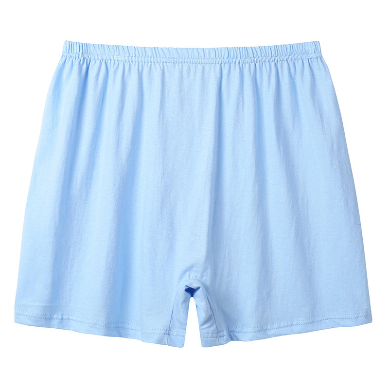 Mens Casual Loose Cotton High Rise Boxer Underwear