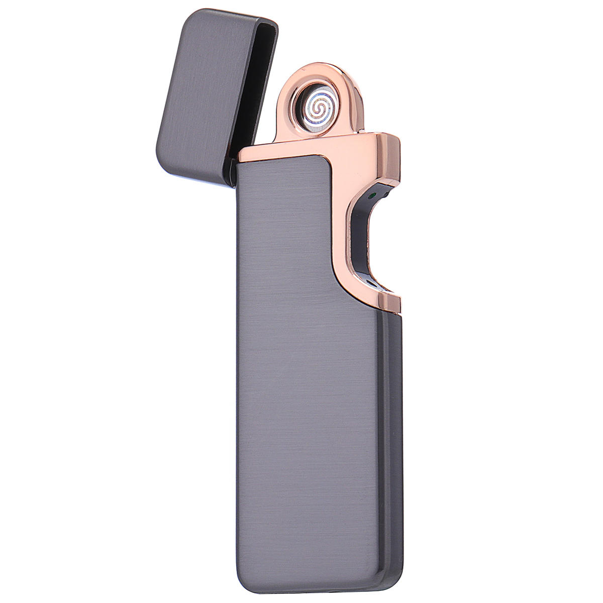 USB Fingerprint Lighter ChargingPhotoelectric Induction Lighter Windproof Ultra-thin Induction