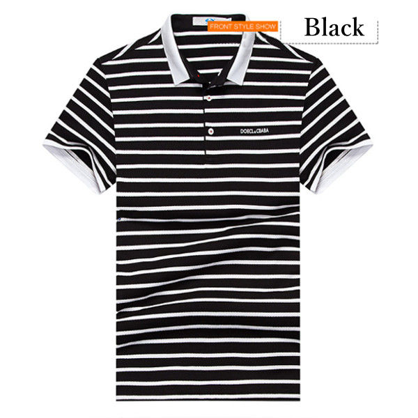 Men's Leisure Cotton Short Sleeved Golf Shirt