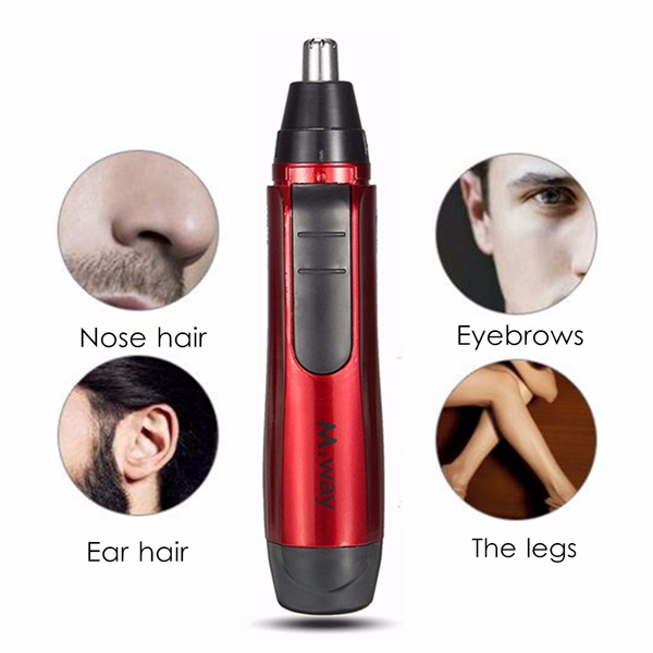 Portable Safe Electric Nose Ear Hair Trimmer Removal Shaver