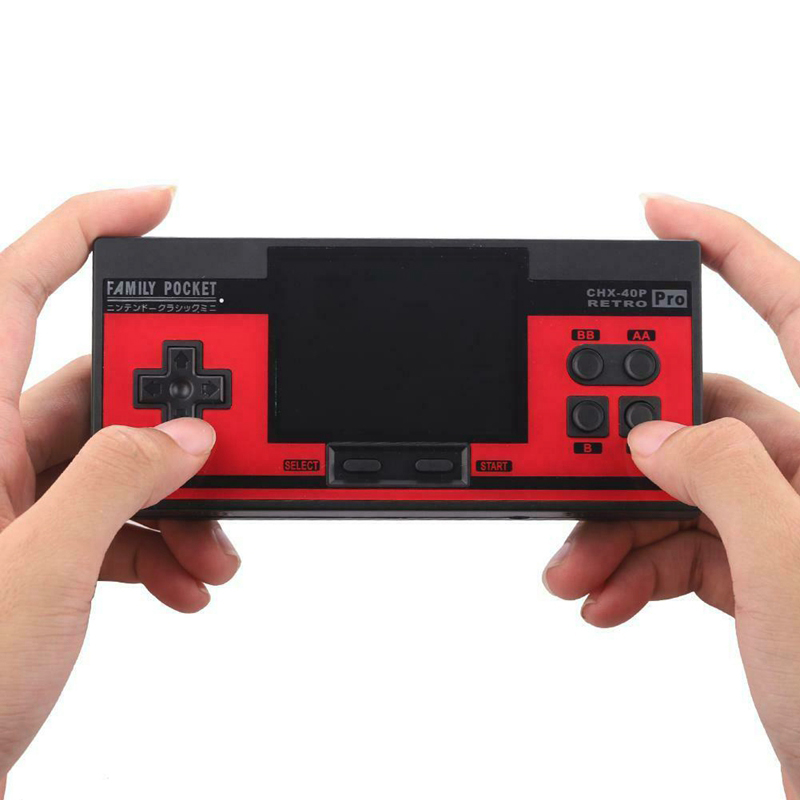 Coolbaby 3.0 Inch Game Console Retro Mini Handheld Game Player Built-In 348 Classic Games
