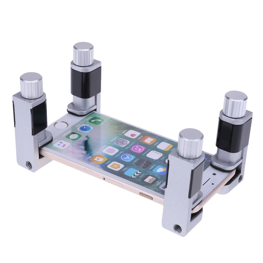 1pce Universal Metal Lcd Screen Fixed Camp Clip Fixture Repair New Pcb Circuit Board Holder Fixtures Tool For Mobile Fastening Clamp Moblie Phone