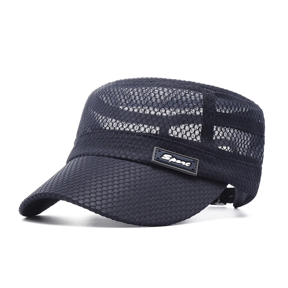 Men Outdoor Quick-Drying Breathable Casual Flat Hat