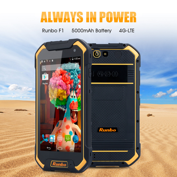 Runbo F1 5.5 Inch 2GB RAM 16GB ROM Android 5.1 Octa-core Waterproof 4G-LTE Smartphone