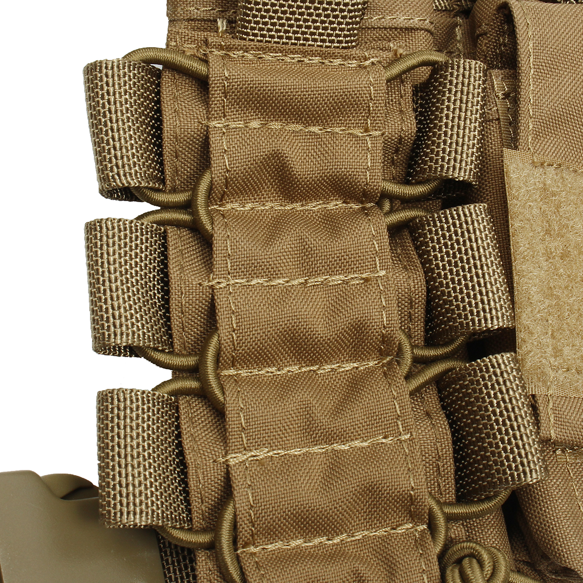 52x65cm Nylon Universal Chest Rig Hunting Vest with 223/308 Pouches 2 Colors