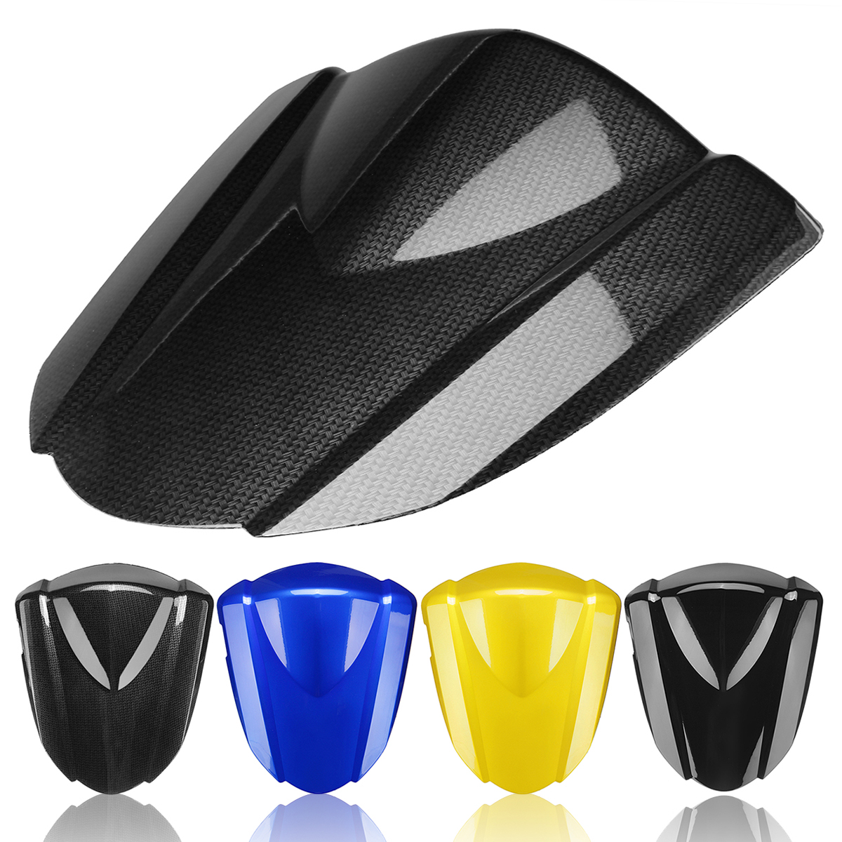 Motorcycle Rear Pillion Seat Cowl Fairing Cover For Suzuki GSXR1000 2007-2008