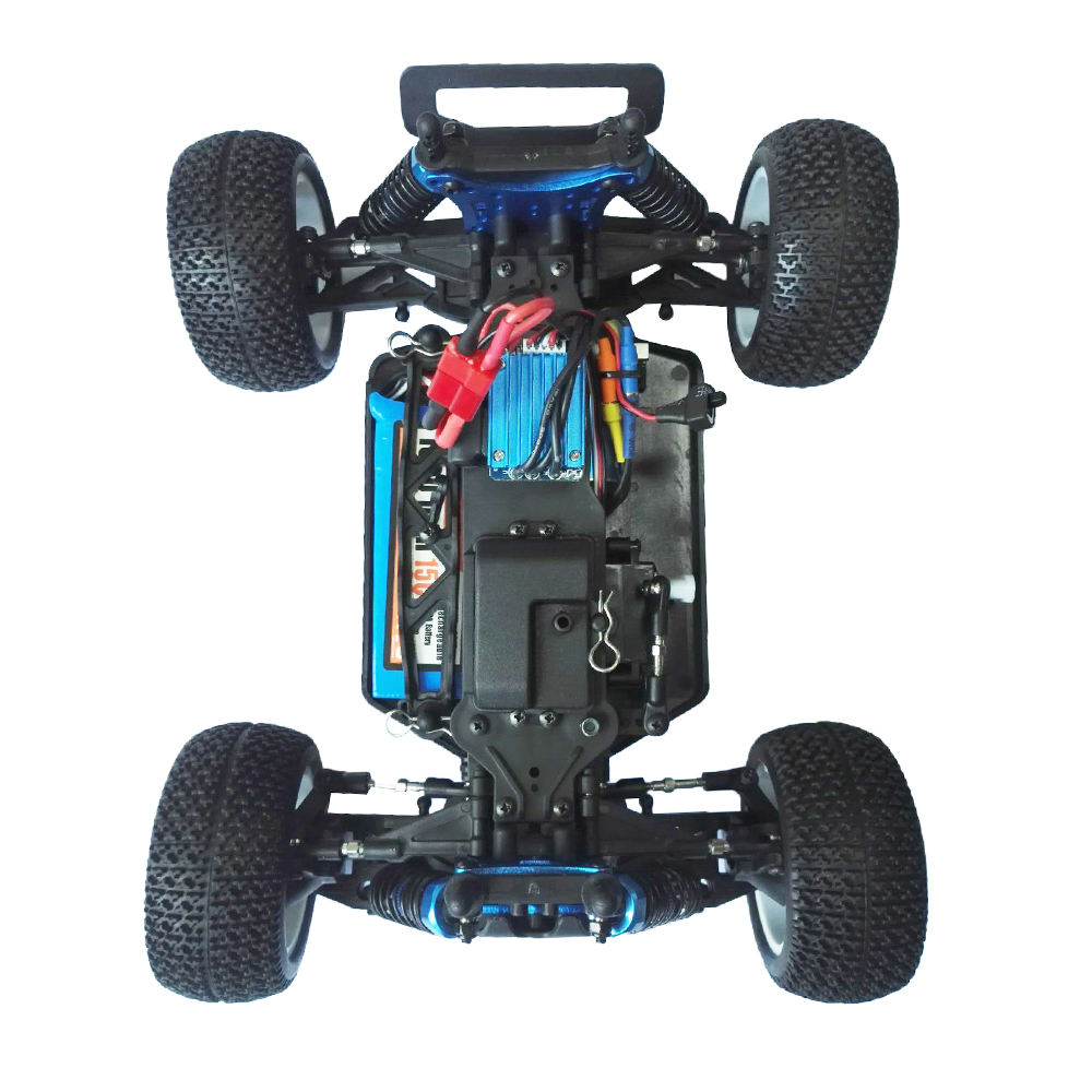 ZD TX-16 1/16 4WD 2.4G Off-road Truggy Brushless RTR RC Car - Photo: 9