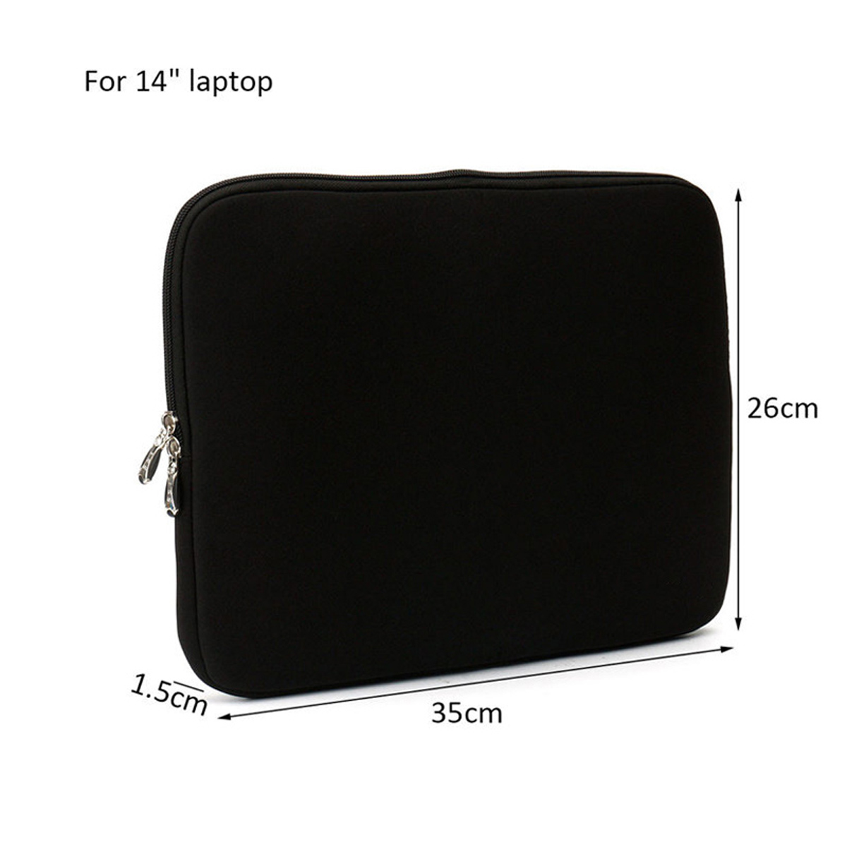 14 Inch LEORY Sleeve Bag Laptop Bag Tablet Bag For Laptop Tablet Under 14 Inch iPad Pro 12.9 Inch Macbook Air 13.3 Inch