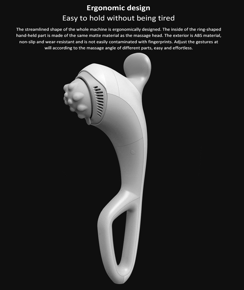LERAVAN Wireless 5-Speed Mode 4 Days Standby Handheld Electric Massager Stick Deep Hitting Relax Muscle Relieve Tiredness Daily Use From Xiaomi Youpin