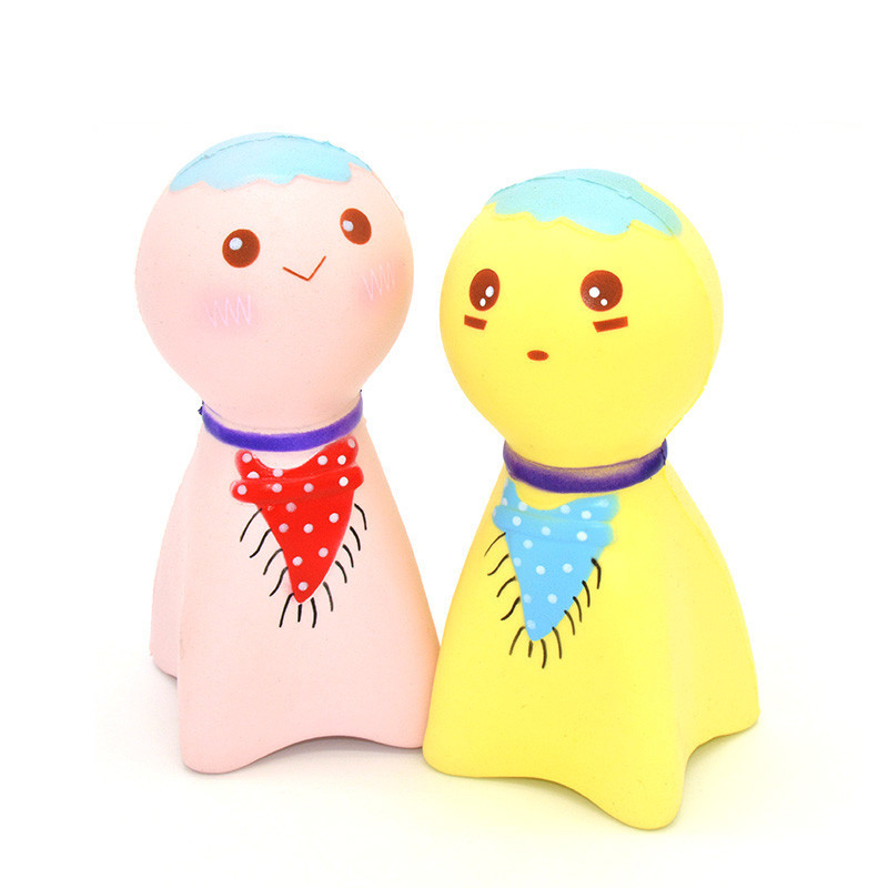 Kiibru Squishy Sunny Doll 14cm Licensed Slow Rising Original Packaging Collection Gift Decor Soft Squeeze Toy