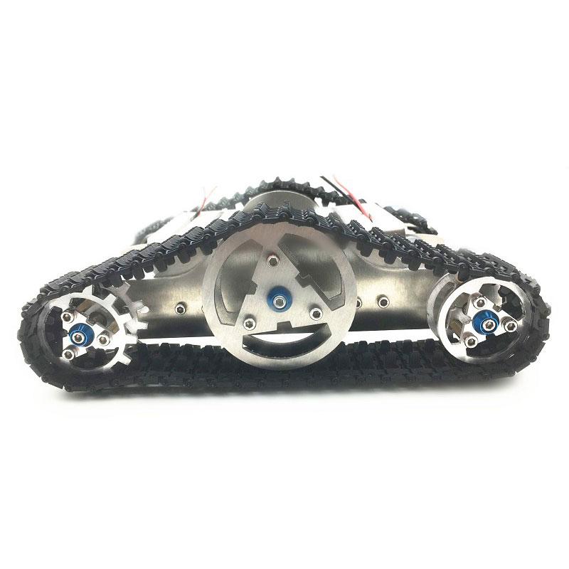 Khung Gầm Xe Thông Minh Diy Robot Robot Với Bộ Bánh Xích Cho Arduino Uno R3