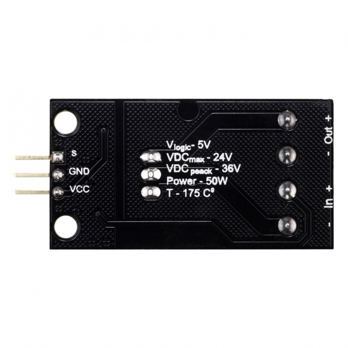 5Pcs RobotDyn® Transistor MOSFET DC Switch Module 5V Logic DC 24V 30A With Optocouplers