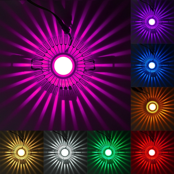3W LED Aluminum Ceiling Light Fixture Corridor Balcony Pendant Lamp Lighting Chandelier