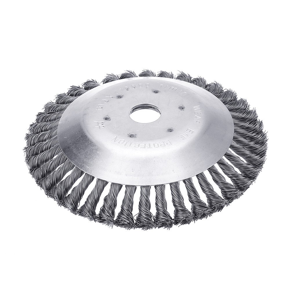 200mm Steel Wire Trimmer Head Grass Brush Cutter Dust Removal Weeding Tray Plate for Lawnmower