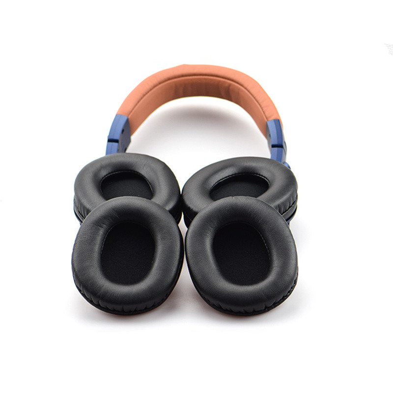Replacement Headphone Earpads For Headband Cover ATH-M50X M30X M40X Headset Cushion With Zipper