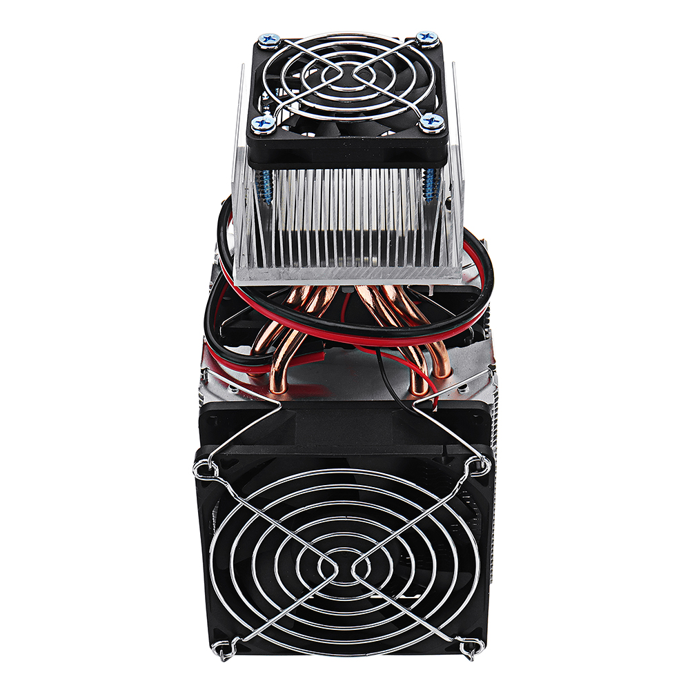 DIY XD-2088 12V Mini Electronic Single Cooling Equipment And Power Supply Small Refrigerator Cooling System Radiator