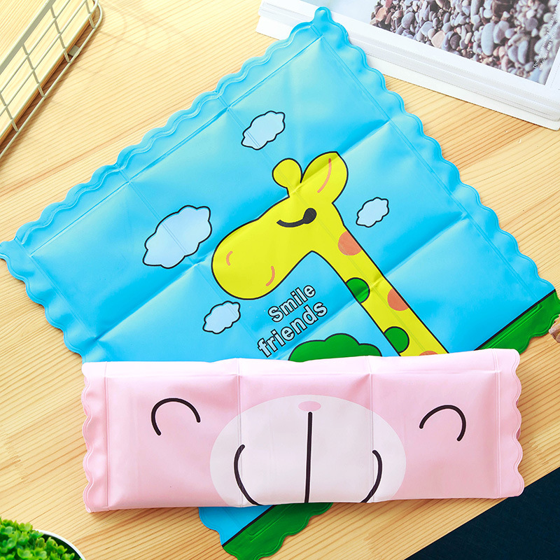 Summer Waterproof Pad Cushion Laptop Cooling Ice Mat Car Seat Cover Animal Pad
