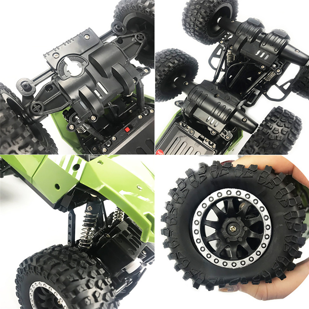 SuLong Toys SL-3339 1/14 2.4G 6WD 20km/h Rc Car Off-Road Pick-up Truck RTR Toy - Photo: 5