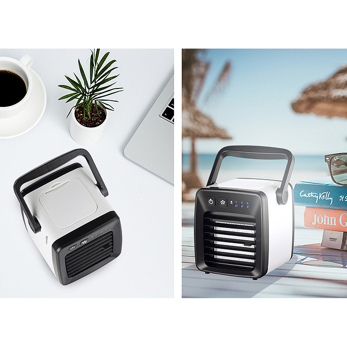5W 5V Portable Mini USB Air Conditioner Cooler 3 Modes Summer Cooling Fan