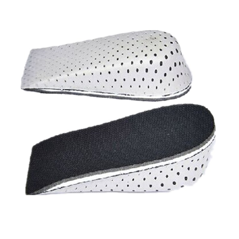 Unisex Increase Height High Half Insoles Memory Foam Shoe Inserts Cushion