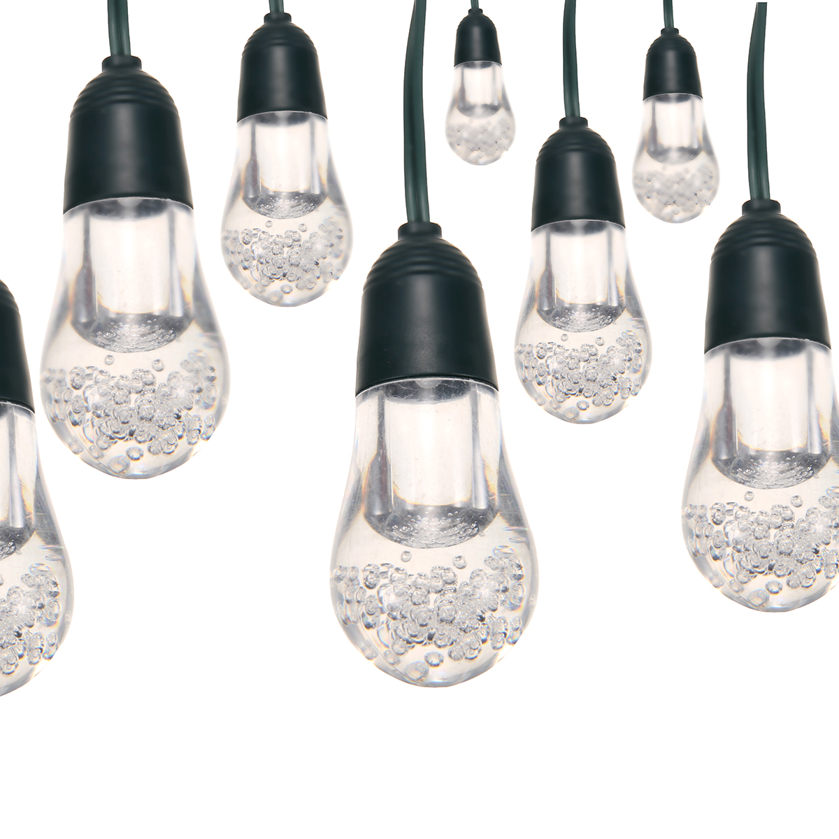 ARILUX® Solar Powered 12Bulbs Two Modes Waterproof RGBW LED Fairy String Light for Patio Christmas