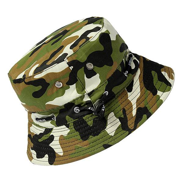 Bucket Camo Boonie Hat Outdoor Sun Cap Camping Hiking Unisex Men Women