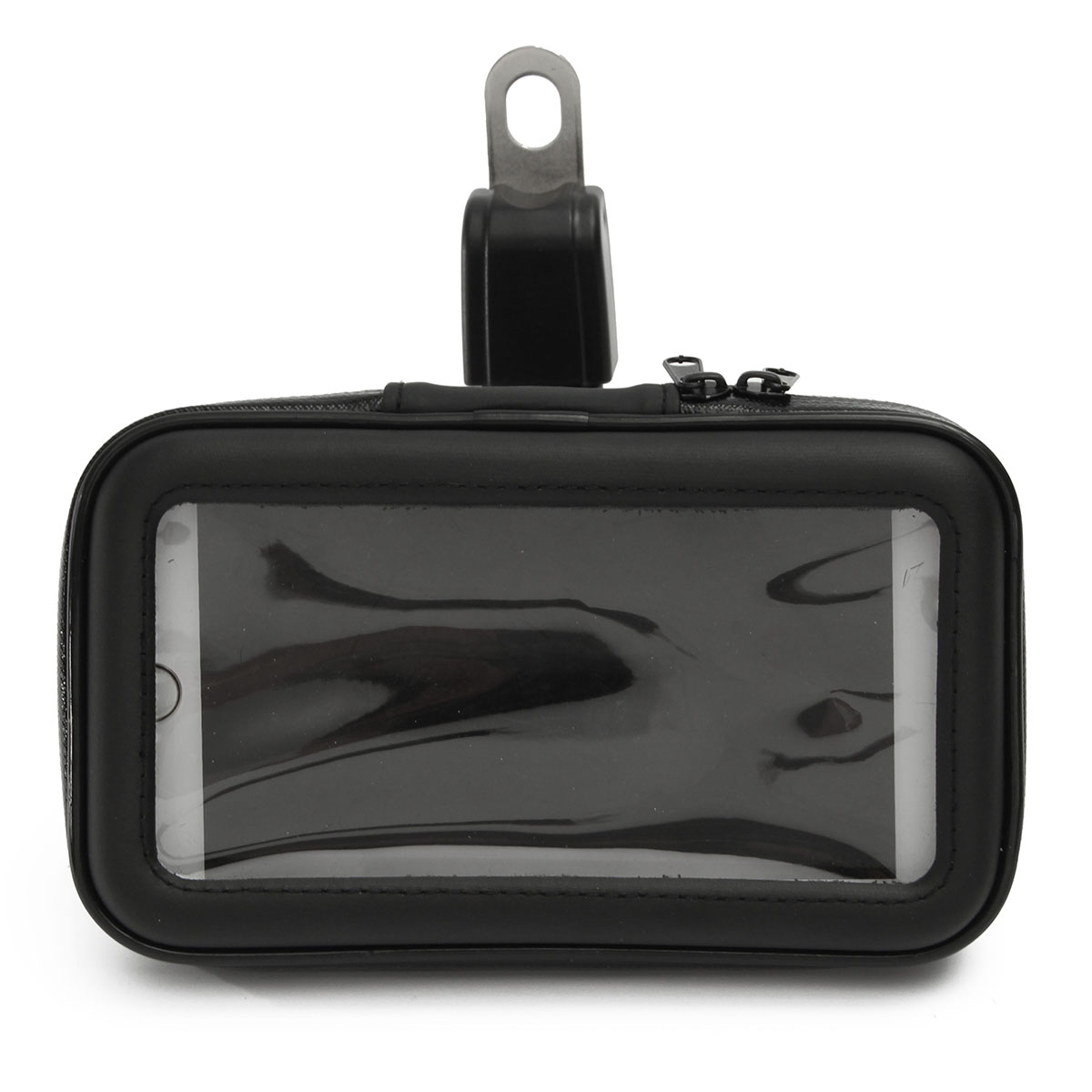3.5-5inch Phone GPS Waterproof Case Bag Pouch Motorcycle Rear View Mirror Mount