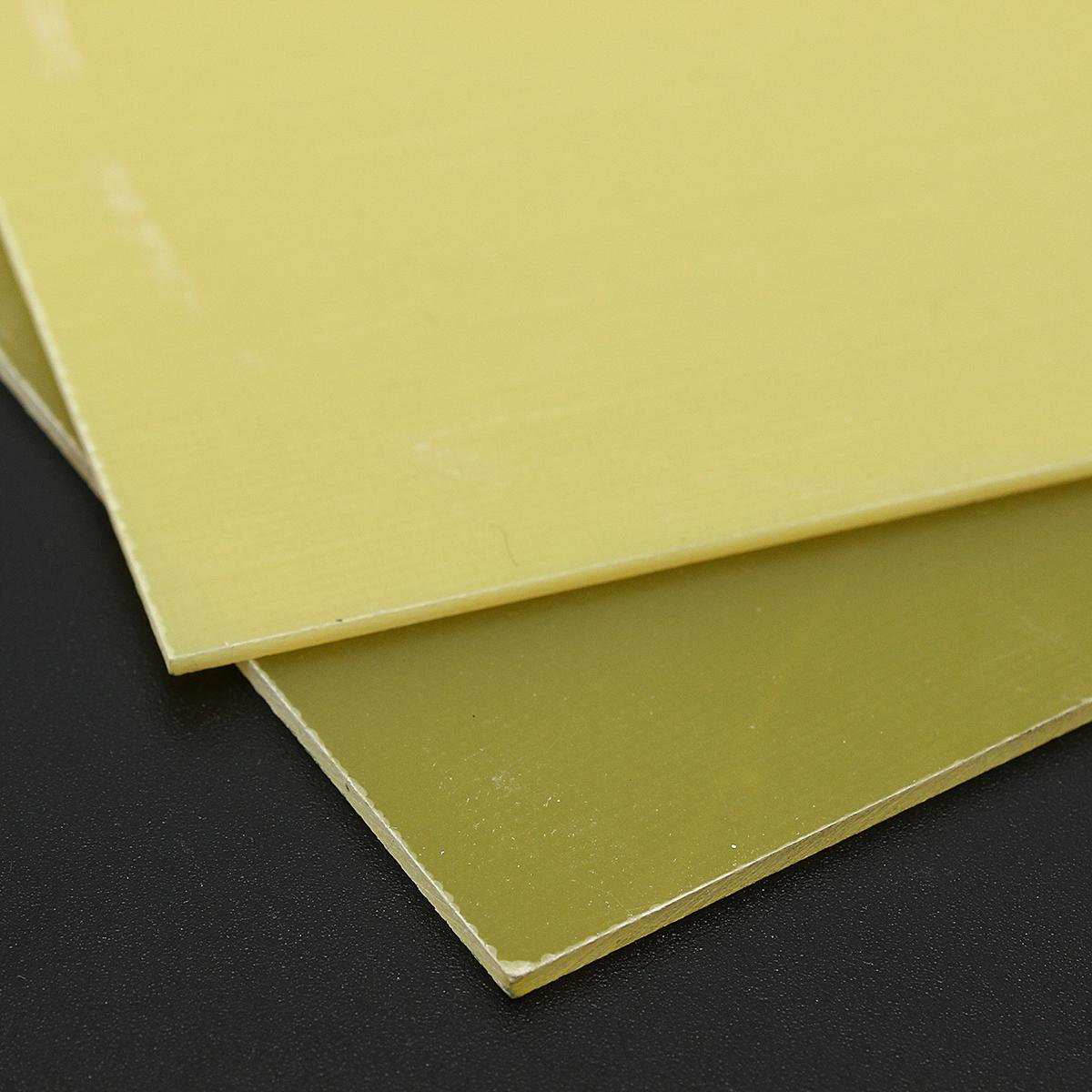 Glass Fibre Sheet GRP Epoxy Glass FR4 Fiber Glass Sheet 300*150mm