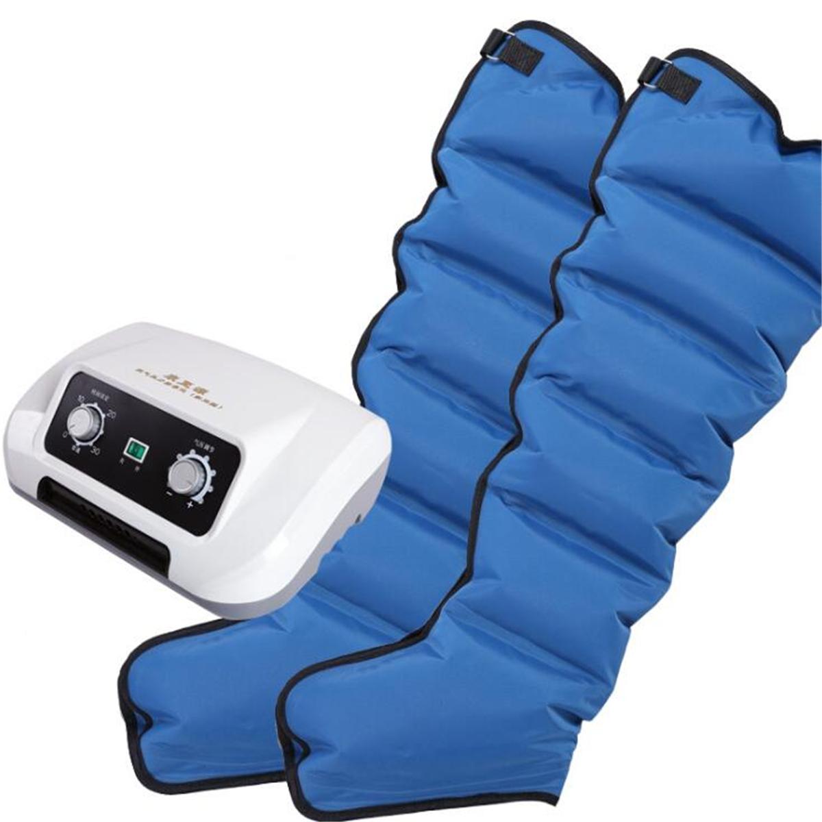 6 Air Chambers Leg Compression Massager Arm Waist Calf Relax