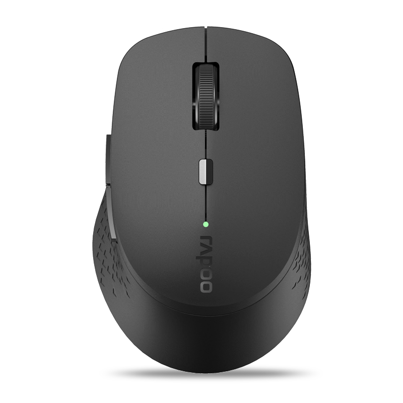 Rapoo M300 1600DPI Multi-Mode Bluetooth 3.0/4.0 2.4GHz Wireless Optical Mouse for Laptops Tablets
