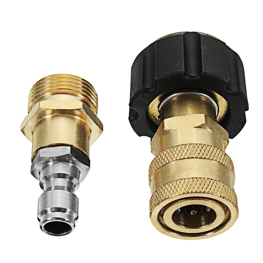 M22 Threaded Nozzle Quick Connect Head for Foam Gun High Pressure Washer Machine