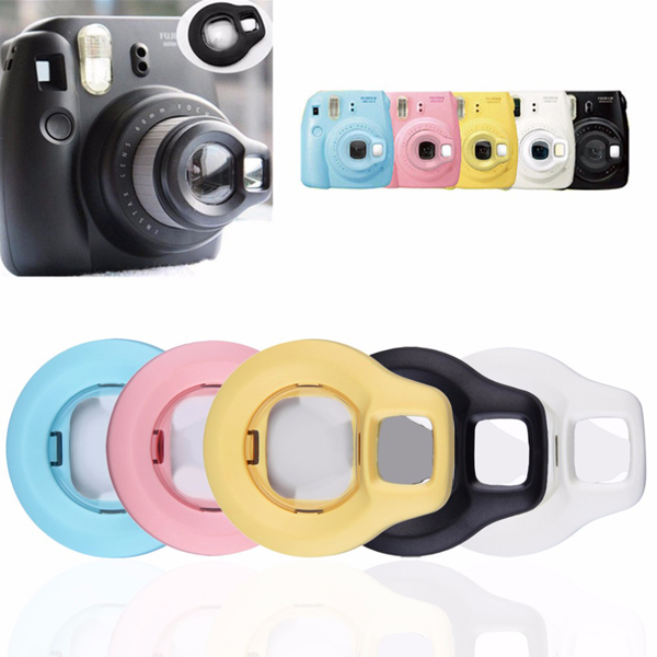 Close Up Lens Rotary Self Portrait Mirror For Fuji Instax Mini 8 Camera
