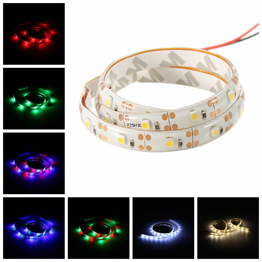 Battery Powered 0.5M SMD 3528 Flexible Waterproof LED Strip String Light