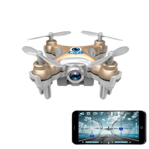 Cheerson CX-10W CX10W Mini Wifi FPV With Camera 2.4G 4CH 6 Axis LED RC Drone Quadcopter