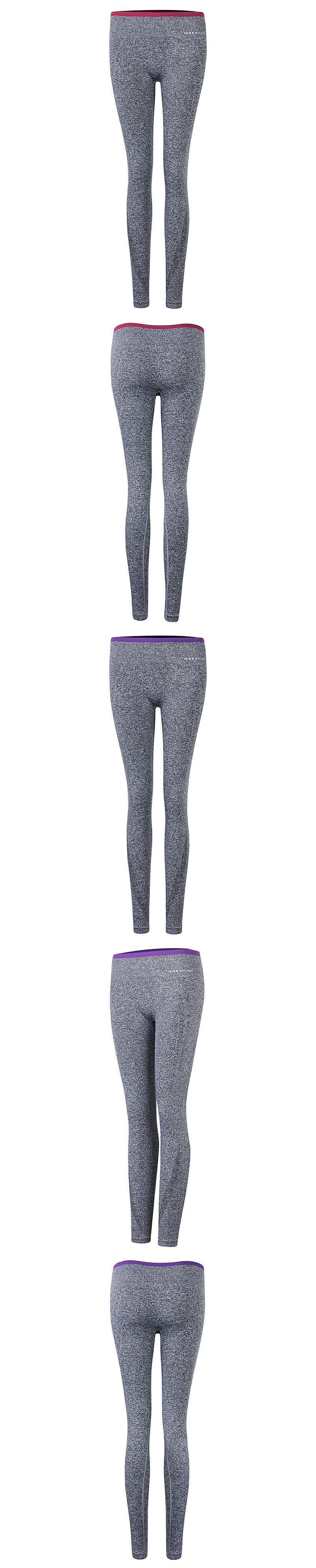 Women Yoga Leggings Sports Elastic Slimming Tights Gym Running Pants Fitness Trousers