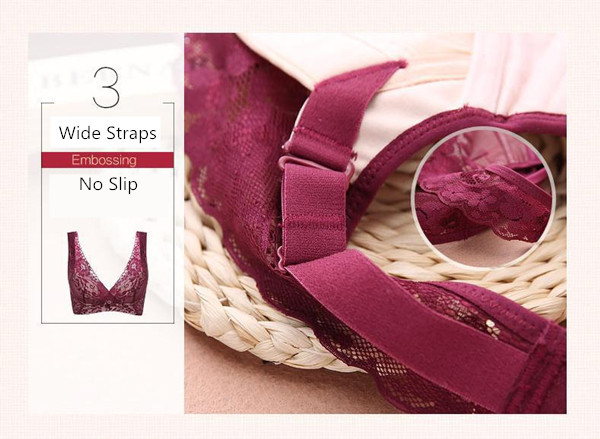 B-F Cup Plus Size Wire Free Yoga Sleeping Bras