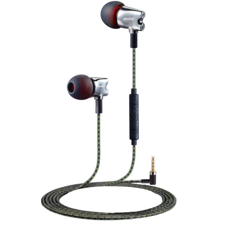 Original JBMMJ S800 3.5mm Wired Earphone Headset With Microphone For iPhone iPad Samsung MP3 PC