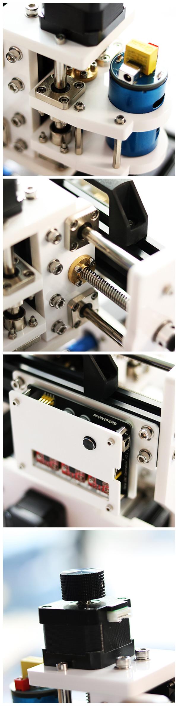 EleksMaker® EleksMill CNC Micro гравировальный станок с лазерным модулем 500mW