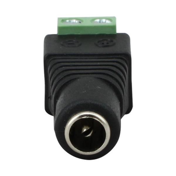5.5 * 2.1mm Connecteur d'Adaptateur de Prise Femelle Mâle d'Alimentation DC pour CCTV LED 5050 3528 5630 Bande de Lumière