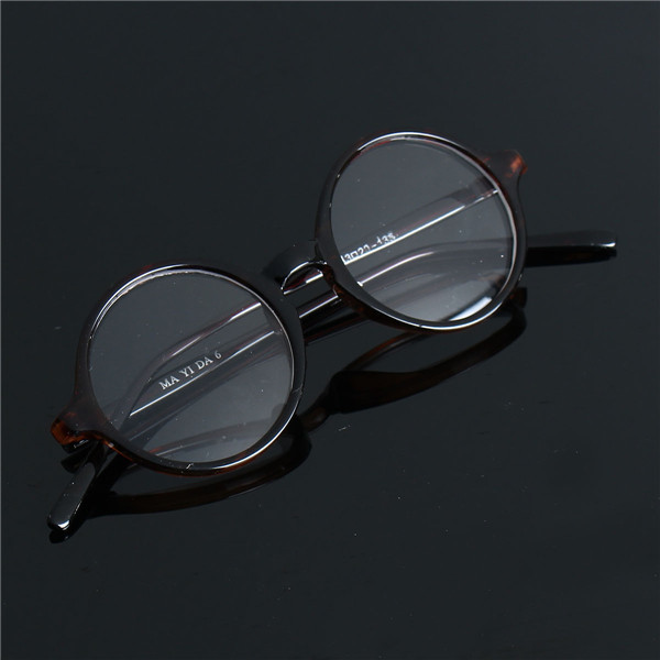 Men Women Vintage Round Eyeglasses Frame Full-Rim Retro Glasses Optical Eyeglassesess