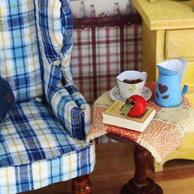Cuteroom Summer Afternoon Miniature DIY 3D Dollhouse Doll House Handmade Wooden Photo Frame Room Box