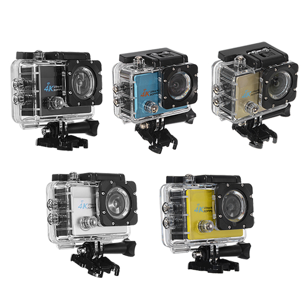 Q3H-2 Sports Action Camera 4K 30fps 1080P HD Wifi 2.0 inch Screen 170 Wide Angle
