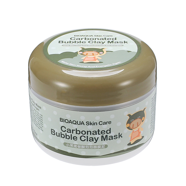 Bubble Clay Mask Mud Blackhead Remove Acid Pore Cleansing