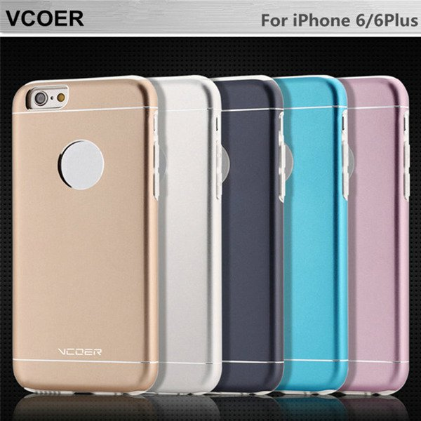 VCOER Aluminum TPU Series Protection Shell Scratch Resistant Case For iPhone 6 6S 6Plus 6S Plus