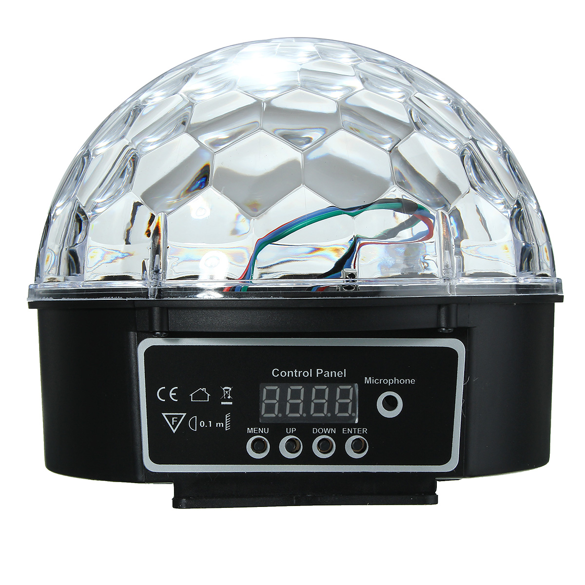 LED Stage Effect Crystal Ball RGB Disco Lighting DJ Party KTV Club
